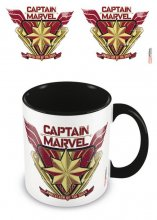 Captain Marvel Coloured Inner Hrnek Protector