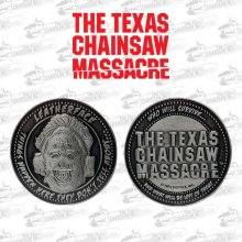 Texas Chainsaw Massacre sběratelská mince Leatherface Limited Ed