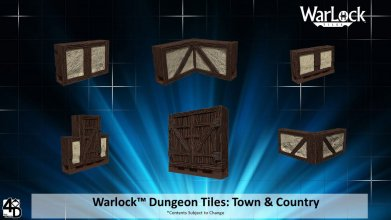 WarLock™ Tiles: Town & Country