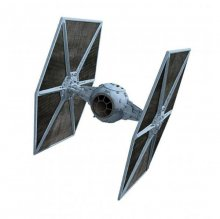 Star Wars V The Empire Strikes Back kovový modell Tie Fighter E