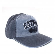 DC Batman Curved Bill Cap Collegiate Text
