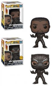 Black Panther Movie POP! Movies Figures Black Panther 9 cm Assor