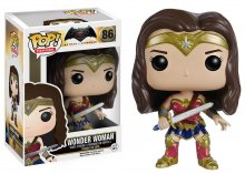 Batman v Superman POP! Heroes Vinylová Figurka Wonder Woman 9 cm