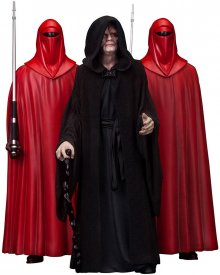 Star Wars PVC Socha 3-Pack 1/10 Emperor Palpatine & The Royal G
