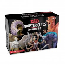 Dungeons & Dragons Spellbook Cards: Monsters 6-16 Deck *English