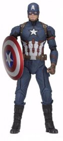 Captain America Civil War Akční figurka 1/4 Captain America 45 c
