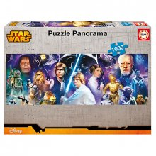 Star Wars puzzle Panorama 1000 dílků