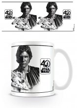 Star Wars Mug 40th Anniversary (Han Solo)