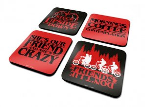 Stranger Things podtácky 4-Pack Phrases