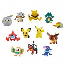 Pokemon mini figurky XL Multi 12-Pack D 3-5 cm