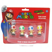 Figurky Super Mario Bros. Toad Edition 6 cm