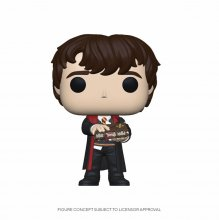 Harry Potter POP! Movies Vinylová Figurka Neville w/Monster Book