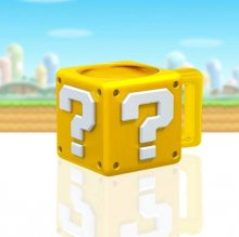 Super Mario Hrnek Shaped Question Block