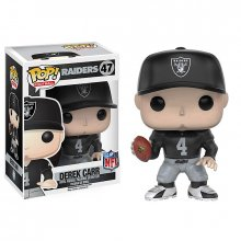 NFL POP! Football figurka Derek Carr (Raiders) 9 cm