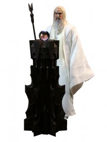 Lord of the Rings sběratelská figurka Saruman 30 cm