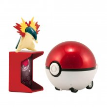 Pokémon Catch 'n' Return Poké Ball Typhlosion + Poké Ball