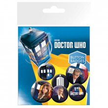 Placky Doctor Who 6-pack