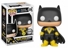 DC Comics POP! Heroes Vinylová Figurka Yellow Lantern Batman GIT