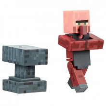 Minecraft akční figurka Blacksmith with Anvil 8 cm