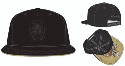 Star Wars The Mandalorian Snapback kšiltovka Bounty Hunter