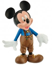 Disney Mickey Mouse & Friends Figure Mickey leather pants 7 cm