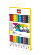 LEGO Gel Pens 12-Pack Bricks