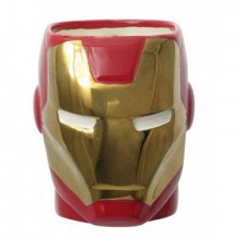 3D Hrnek Iron Man Marvel Comics Super Hero