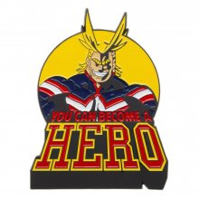 My Hero Academia Lapel Pin All Might 8 cm