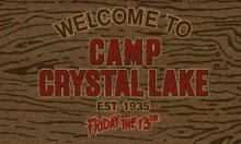 Friday the 13th rohožka Welcome To Camp Crystal Lake 43 x 73 cm
