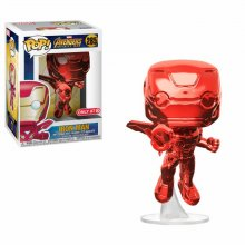 Avengers Infinity War POP! Movies Vinylová Figurka Iron Man Red