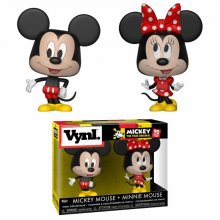 Disney VYNL Vinyl Figures 2-Pack Mickey Mouse & Minnie Mouse 10