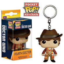 Přívěšek na klíče Doctor Who POP! 4th Doctor 4 cm
