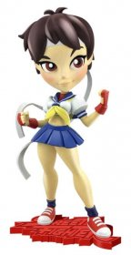 Street Fighter Knockouts Vinyl Figure Serie 1 Sakura 18 cm