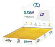 Ultimate Guard 18-Pocket Pages Side-Loading Yellow (50)
