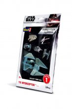 Star Wars Level 2 Easy-Click Snap Model Kit Series 1 TIE Interce