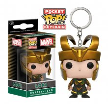 Marvel Comics Pocket POP! Vinyl Keychain Loki 4 cm