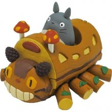 Muj soused Totoro Pullback Vehicle Cat Bus