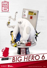 Big Hero 6 D-Select PVC Diorama 15 cm