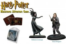 Harry Potter Miniatures 35 mm 2-pack Bellatrix & Wormtail *Engli
