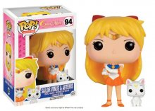 Sailor Moon POP! Animation Vinylová Figurka Sailor Venus & Artem