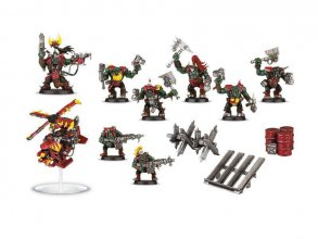 Warhammer 40K Build+Paint Model Set Series 1 Space Ork Raiders
