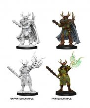 Pathfinder Battles Deep Cuts Unpainted Miniatures Male Half-Orc