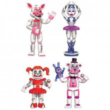 Five Nights at Freddys figurky Sister Location 4-Pack 5 cm FNAF