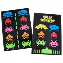 Space invaders sada magnetů na lednici Invaders
