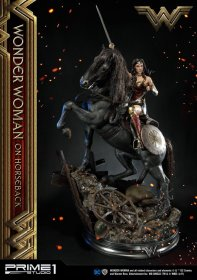 Wonder Woman Socha Wonder Woman on Horseback 138 cm