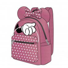 Disney Casual Fashion batoh Minnie Mouse Pink Bow 22 x 23 x 1