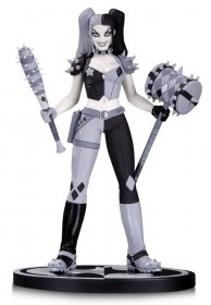 Batman Black & White Statue Harley Quinn by Amanda Conner 18 cm