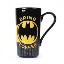 Batman Latte-Macchiato Hrnek Bring Coffee