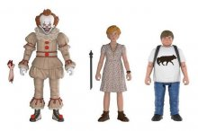 Stephen King's It 2017 Action Figures 3-Pack Pennywise, Ben, Bev