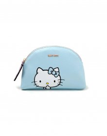 Hello Kitty Peněženka na mince / Make Up Bag Blue Kitty
